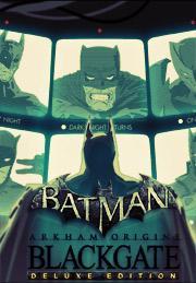 Batman: Arkham Origins Blackgate Deluxe Edition от gamersgate.com