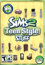 The Sims 2 Teen Stuff US
