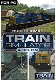 Train Simulator - CSX SD80MAC Loco Add-On от gamersgate.com