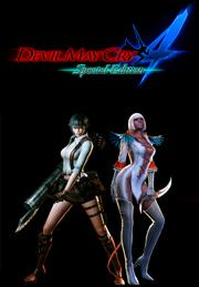 Devil May Cry 4 Special Edition - Lady &amp; Trish Costumes DLCGame<br><br>