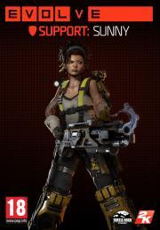 Evolve: Sunny (Fourth Support Hunter)Game<br><br>