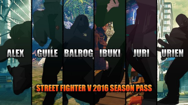 Street Fighter V Season 1 Character Pass Pc Steam Game Key
