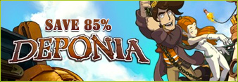 Deponia Flash Sale