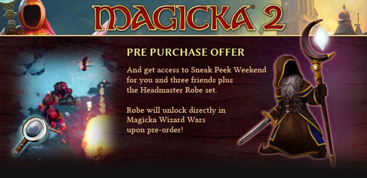 Magicka 2 pre-order