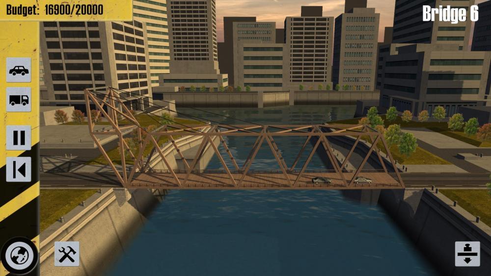 Игры на андроид грузовики Bridge Constructor Stunts