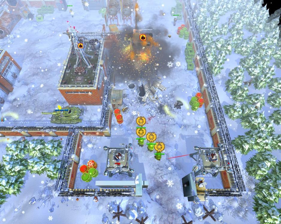 اللعبة الاستراتيجيــــة الرائعــة Cannon Fodder 3 بحجــم 330 ميجـــا فقط !!