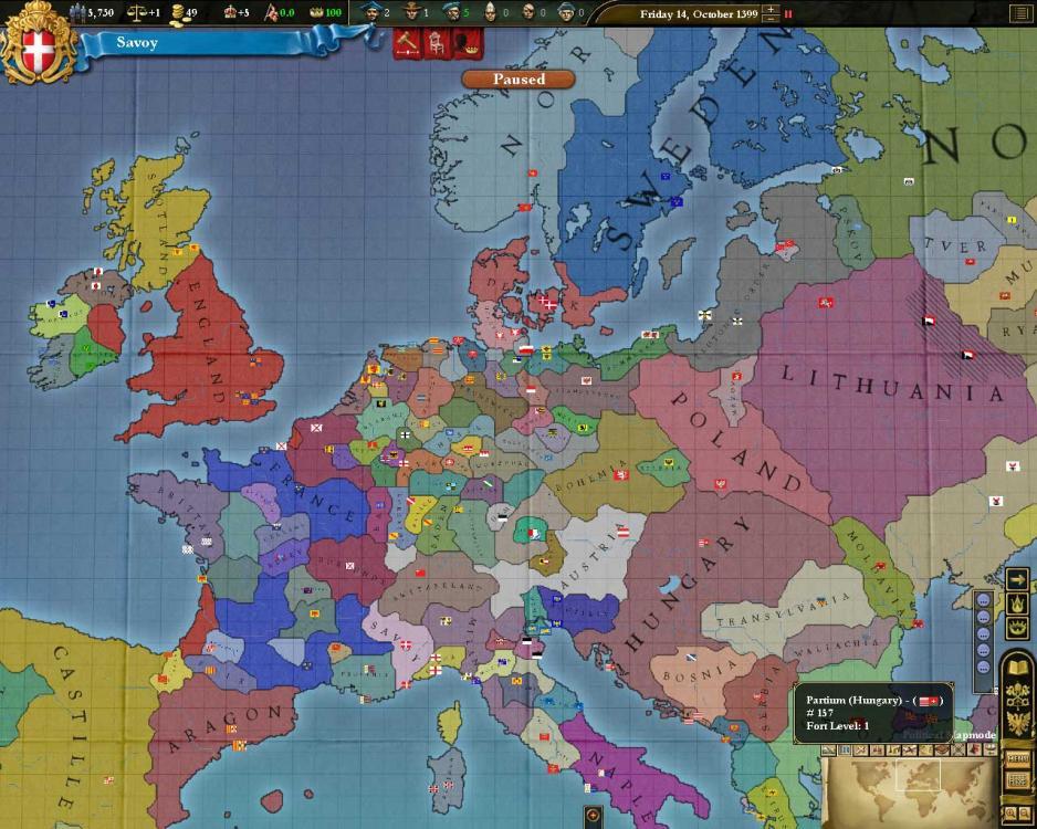 Europa Universalis 3 for Mac
