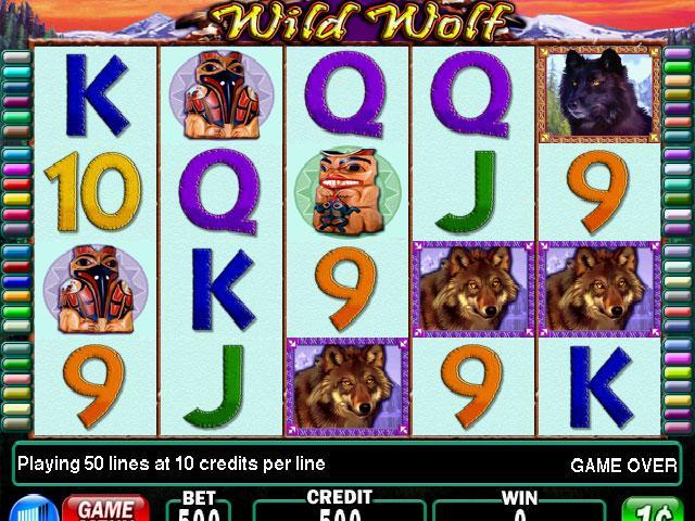 las vegas slots wild wolf