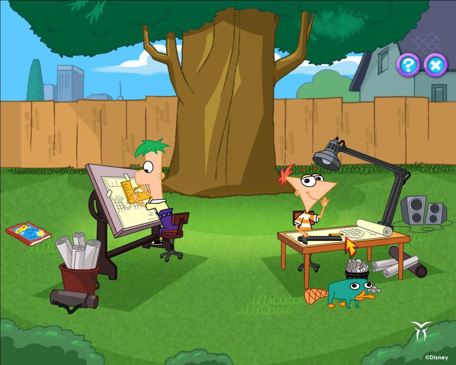 Disney Channel Games Phineas And Ferb Build A Roller Coaster