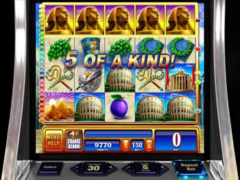 rome and egypt slot machine locator