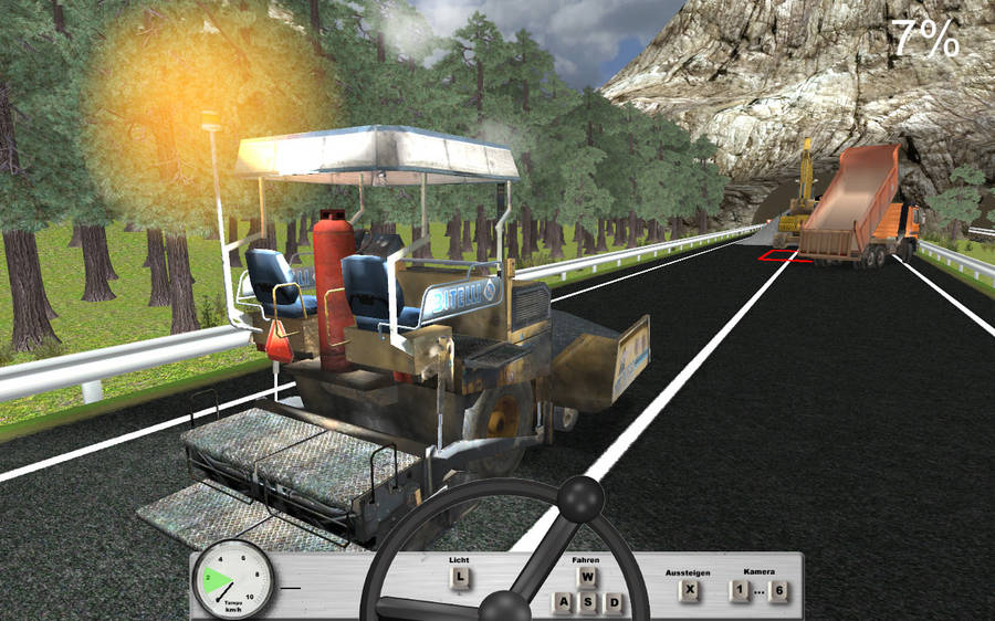 CrimsonRain.Com Road Works Simulator 道路工程模擬