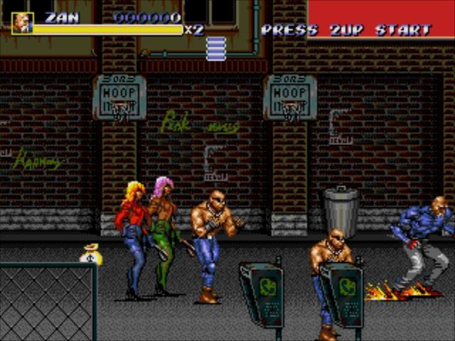 Dr. Zan: A Review  |Streets Of Rage 3 Zan