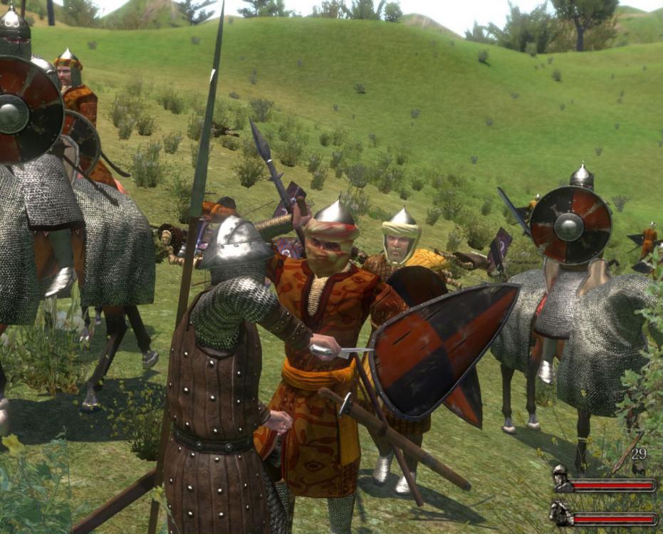 Как сделать турнир в mount and blade warband