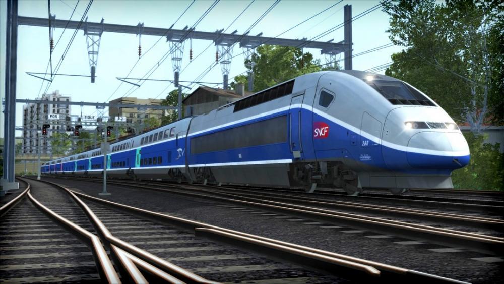 train simulator lgv marseille avignon route add on buy and download on gamersgate. Black Bedroom Furniture Sets. Home Design Ideas