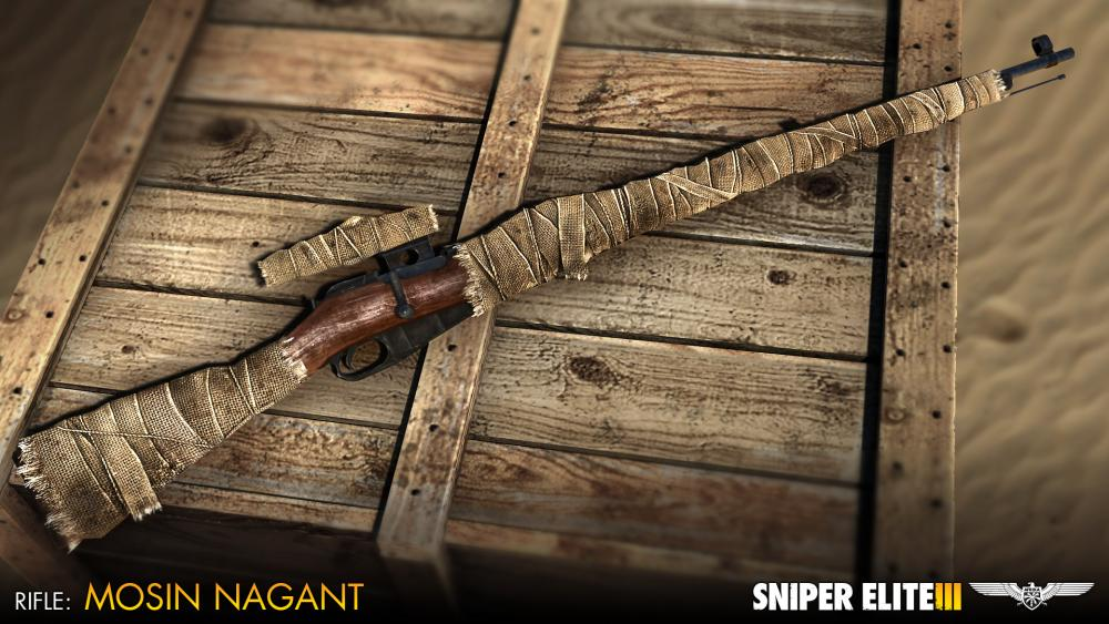 sniper elite 3 camouflage weapons pack buy and download