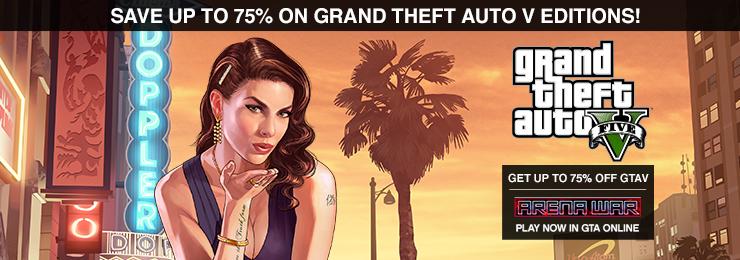 GRAND THEFT AUTO V: PREMIUM ONLINE EDITION - GamersGate