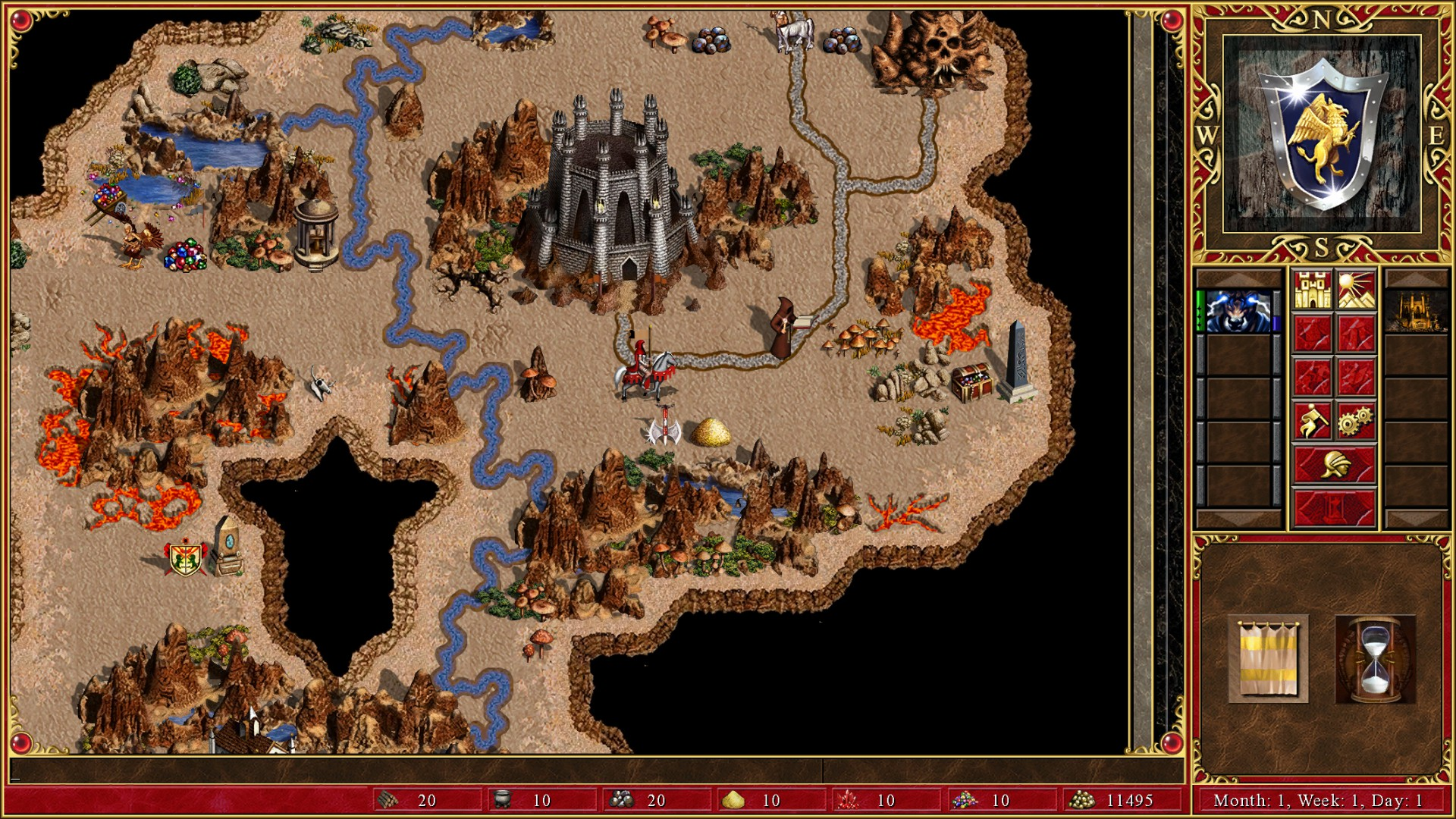 Heroes of might and magic 4 winds of war cheats