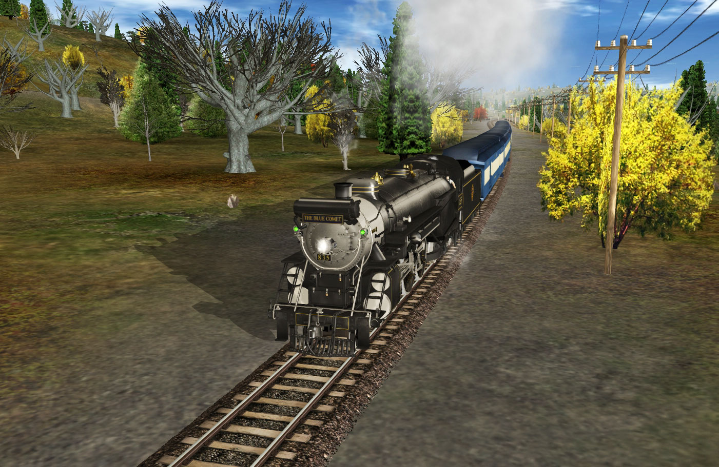 Trainz Simulator DLC Blue Comet Buy and download on  : screenshot1401911SSTLV64 from www.gamersgate.com size 1401 x 911 jpeg 344kB