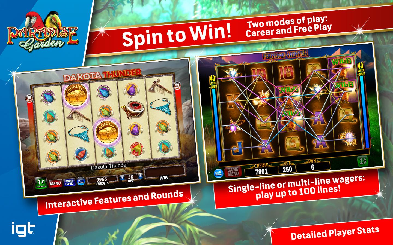 Igt slots paradise garden gameplay