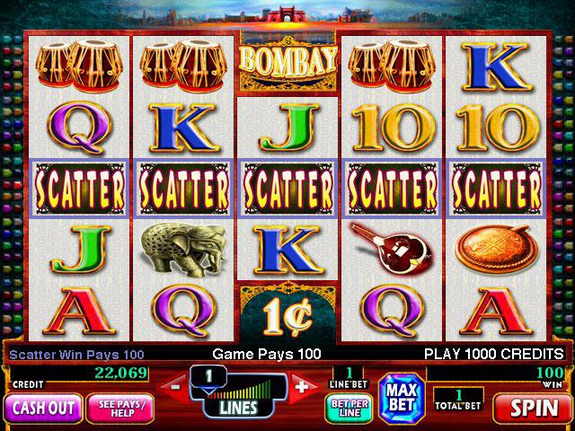 bombay slot machine