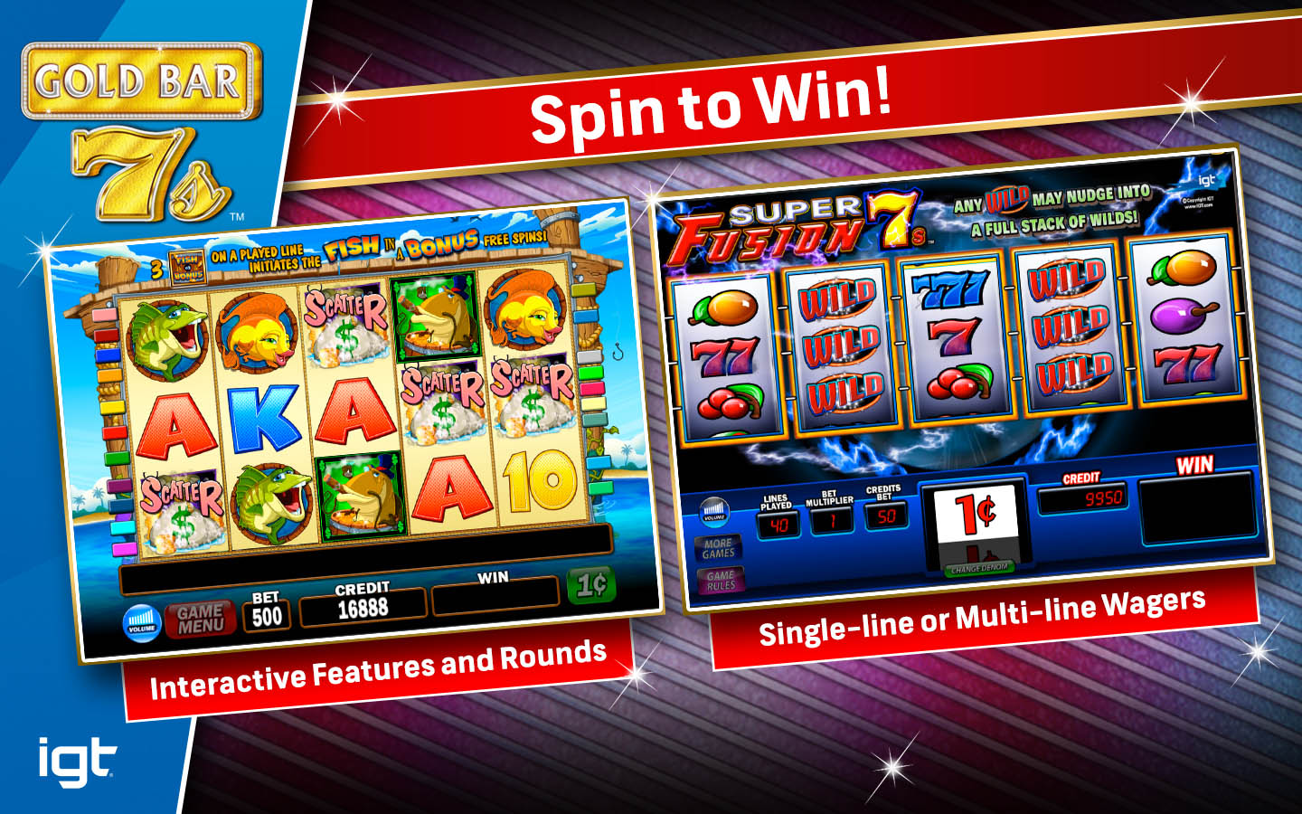 Igt slots gold bar 7 39 s pc buy and download on gamersgate for Big fish casino gold bars