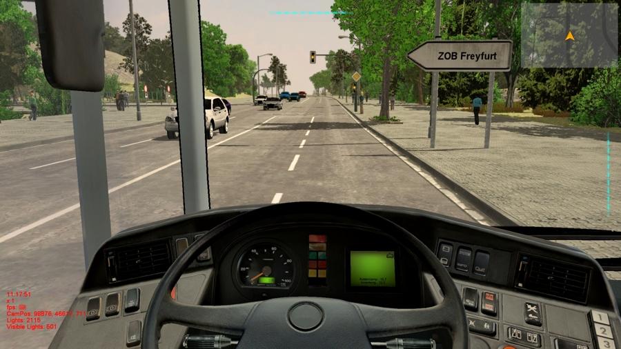 скачать игру Bus Simulator 2012 скачать торрент - фото 11