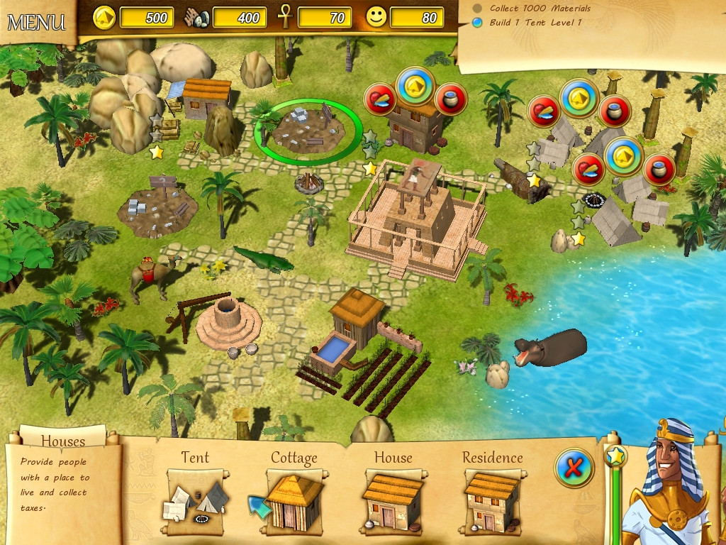 Fate of the pharaoh pc buy and download on gamersgate for Build my house online free