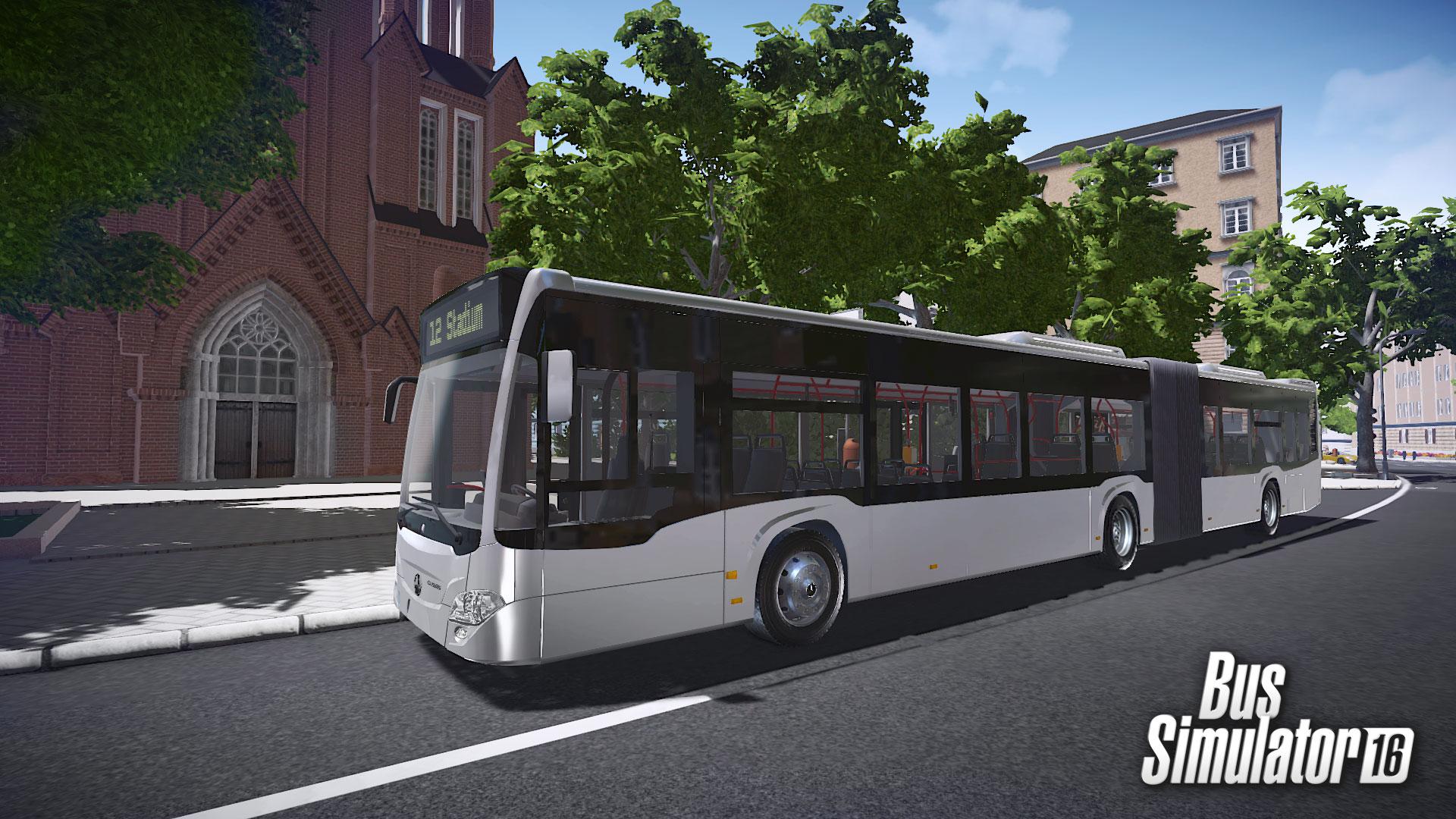 bus simulator 16 mercedes benz citaro buy and download on gamersgate. Black Bedroom Furniture Sets. Home Design Ideas